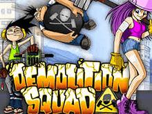 Слот Команда Демонтажников в казино Вулкан Удачи