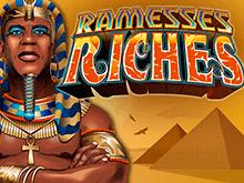Автомат Ramesses Riches в азартном игровом клубе Вулкан